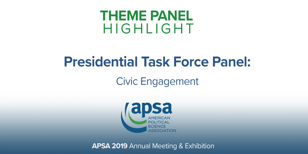 Presidential Task Force Panel Civic Engagement