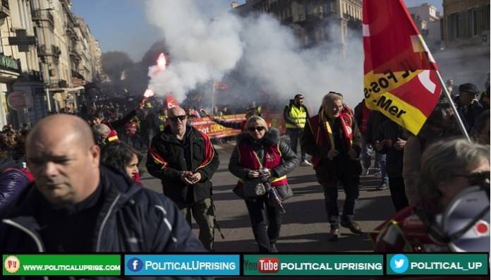 Doctors,teachers and lawyers joins France Strike