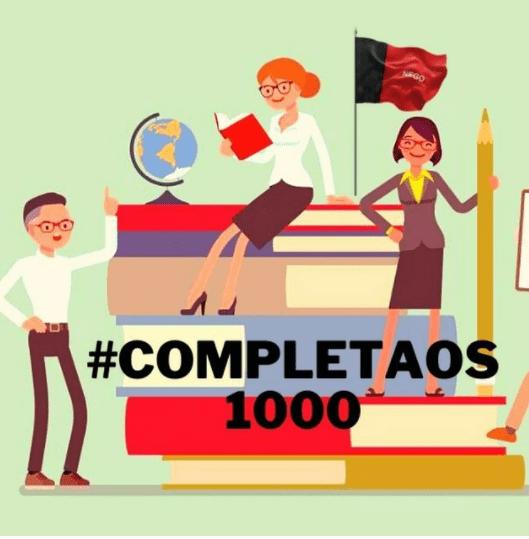 """""""Completa os 1000"""". Movimento pede que Estado nomeie mais professores. Governador responde"""