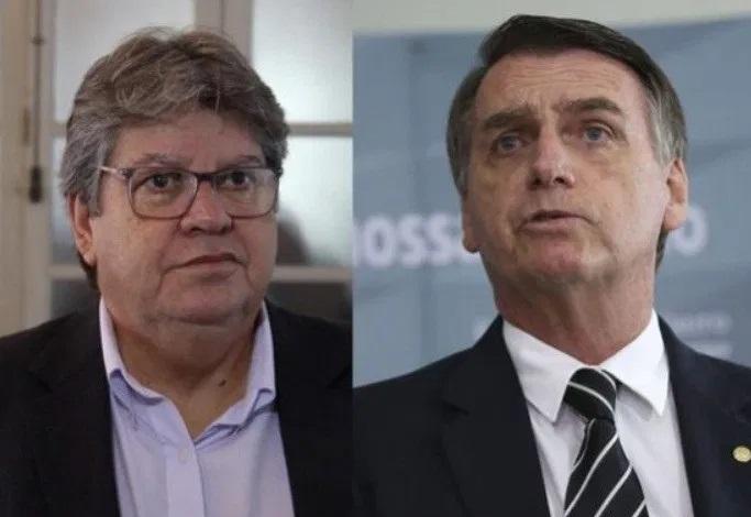 """João Azevêdo rebate Bolsonaro: """"Paraíba não recebeu R$ 21 bilhões para combater pandemia"""""""