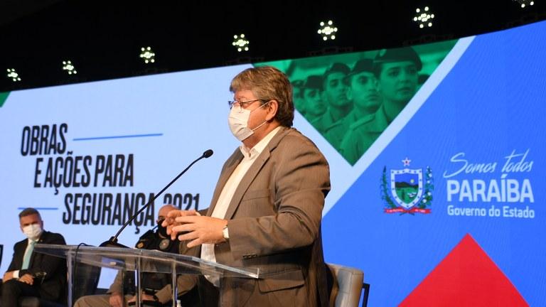 Governo estadual anuncia resgate aeromédico, RG 100% biométrico e criação de região e áreas de Segurança