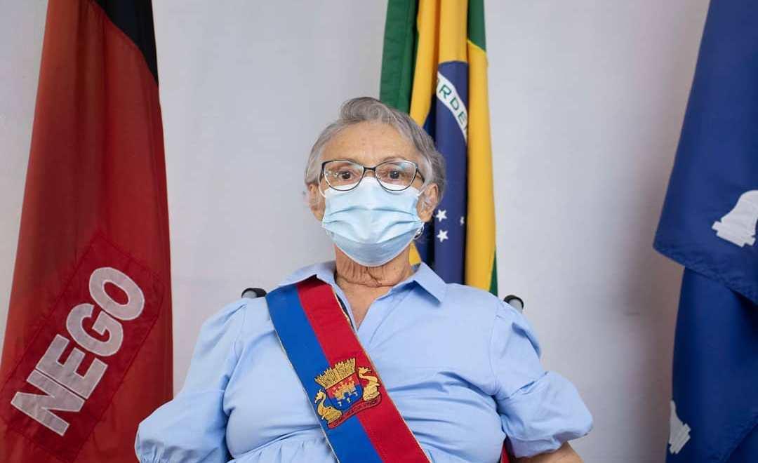 Mulher assume pela primeira vez o comando da Prefeitura Cabedelo