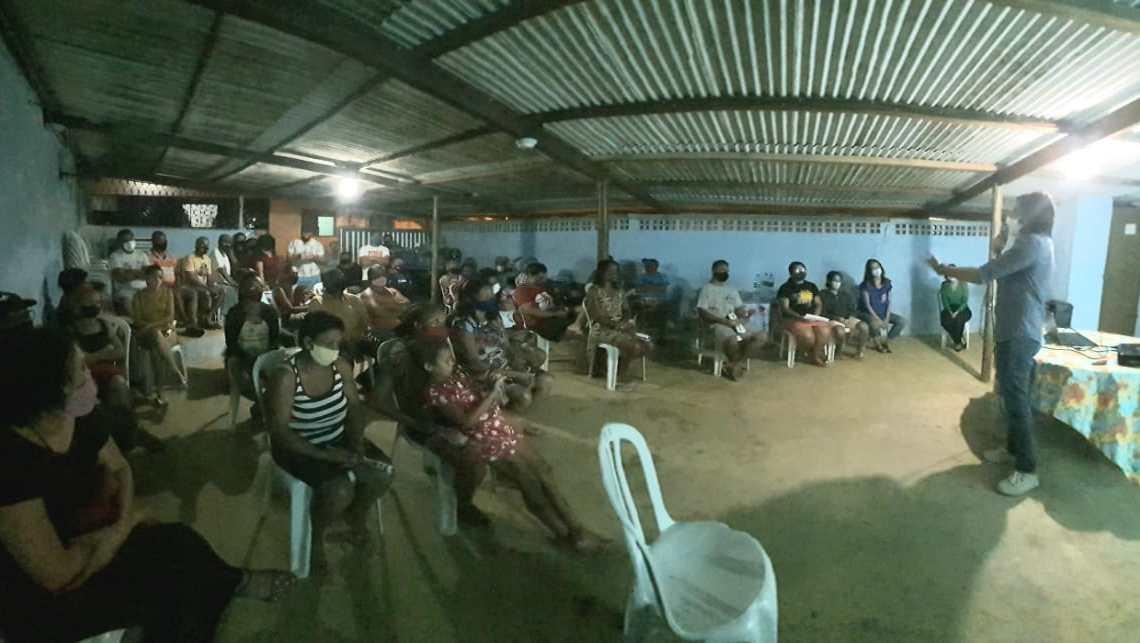 Moradores da São Rafael debatem Plano de Desenvolvimento Comunitário do Programa João Pessoa Sustentável