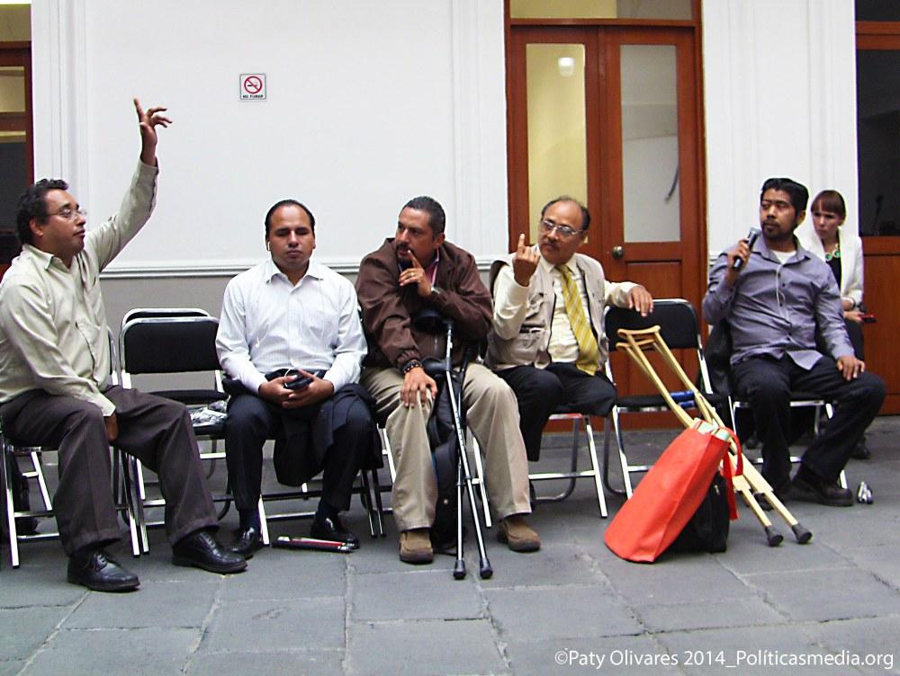 """El Coloquio: """"Mecanismos de Aplicación y Seguimiento de la Convención sobre los Derechos de las Personas con Discapacidad"""", en la CNDH."""
