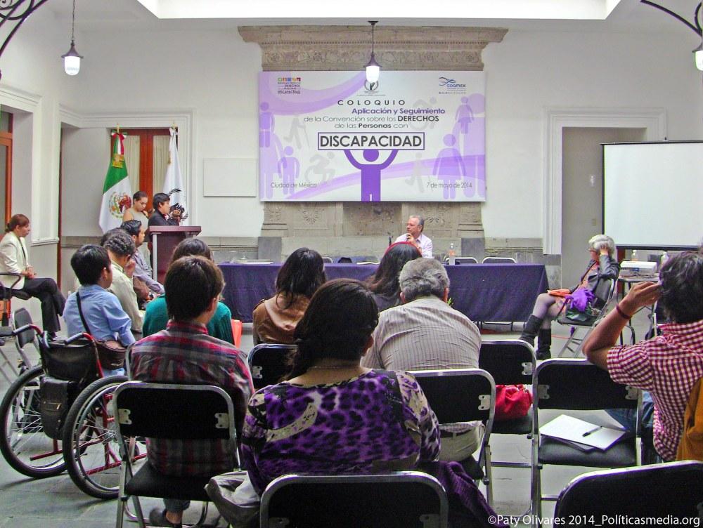 """El Coloquio: """"Mecanismos de Aplicación y Seguimiento de la Convención sobre los Derechos de las Personas con Discapacidad"""" en la CNDH."""