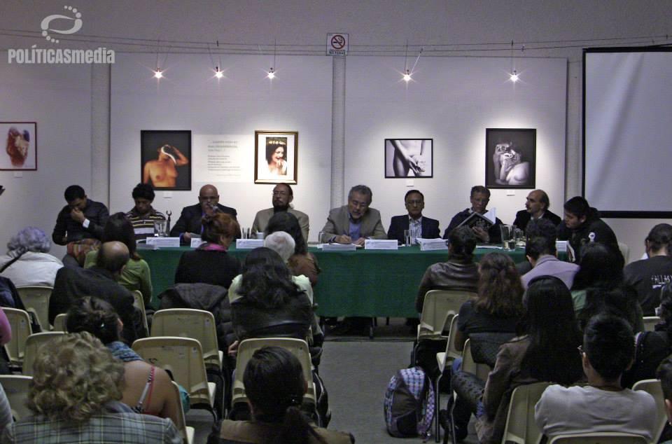 """Foro: """"Educación como instrumento principal del Desarrollo histórico de los Derechos Humanos"""", en la UACM Plantel del Valle, 25 de noviembre de 2014. Fotografía: Paty Olivares."""