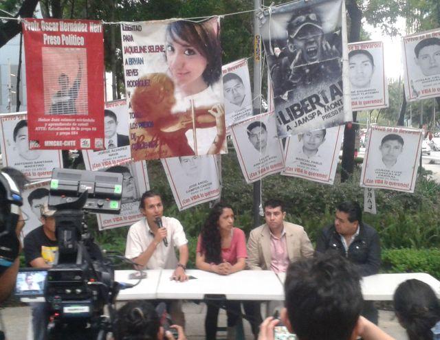 Fotografía: Rosa Isela Martínez integrante del Plantón de la PGR.