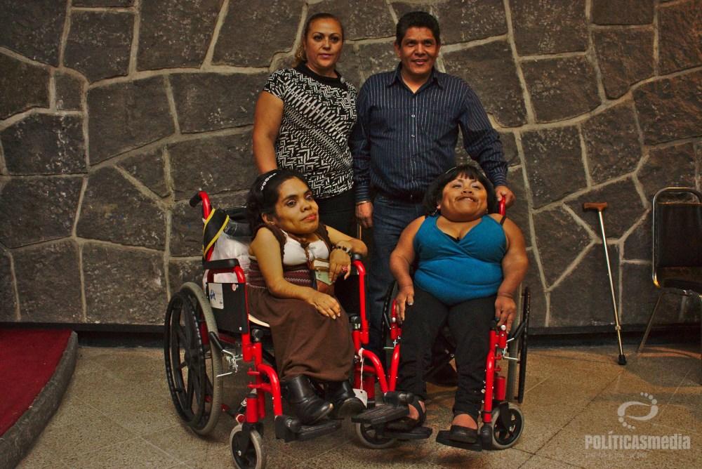 Primer marcha por los Derechos Humanos de las Personas con Discapacidad, en la Ciudad de México. Fotografía: Antonio Hernández
