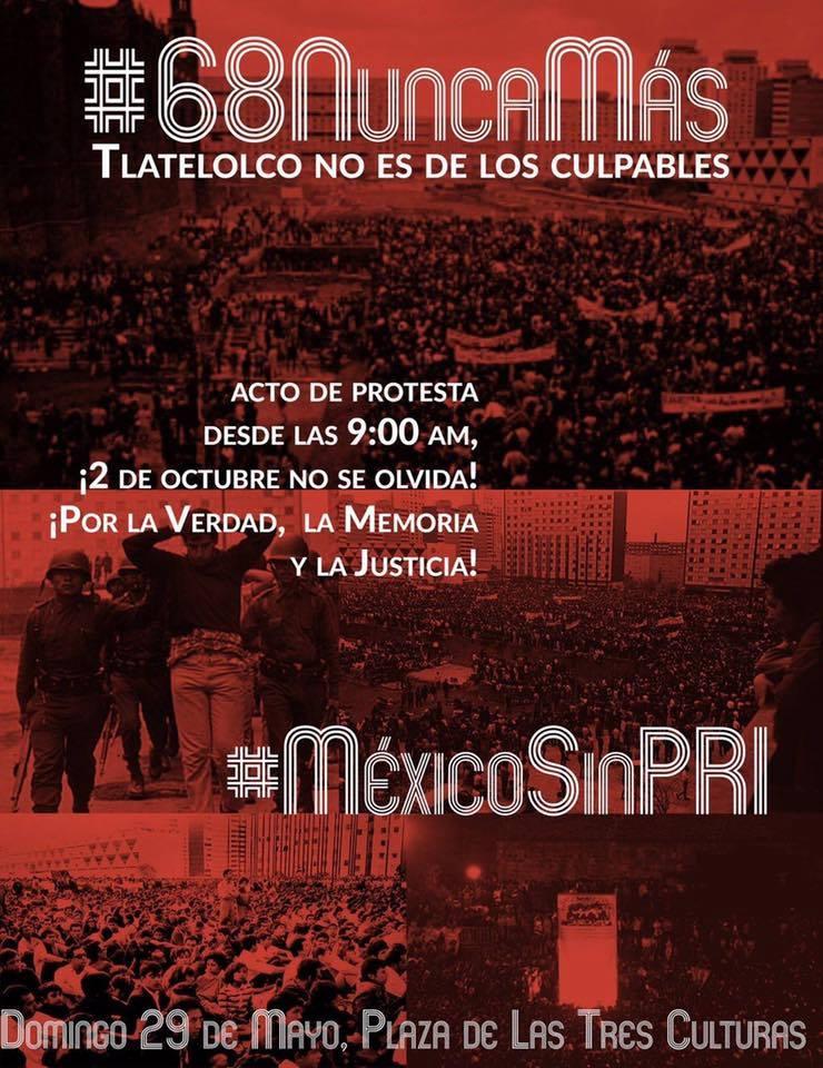 """Comité 68: """"Nuestra lucha es por la Verdad, la Memoria y la Justicia."""""""