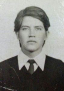 Josué Moreno Rendón. 10 de agosto de 1950 - 10 junio 1971.