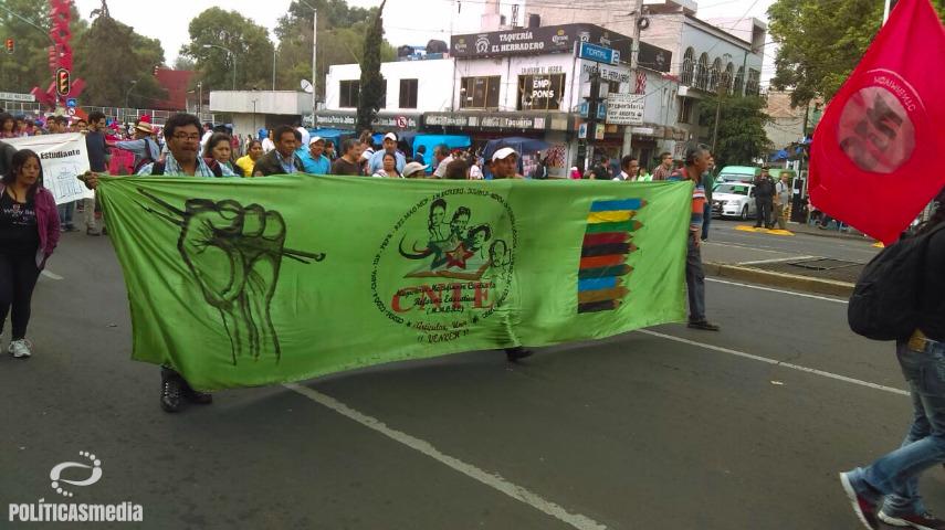 Marcha Conmemorativa del Halconazo, 10 de junio de 2016 | Fotografía de Martín López.