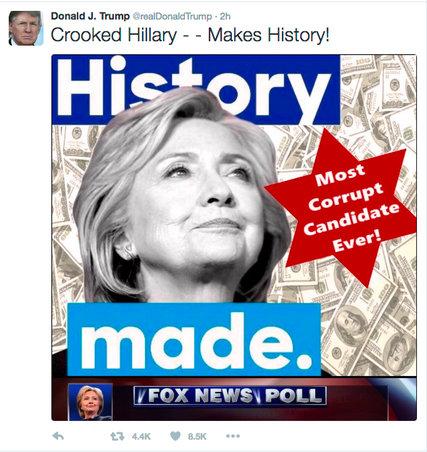 """El ambiente político y cultural para el estallido del """"Trumpismo"""" ha sido cultivado, desde hace unos veinticinco años, por una red de medios de comunicación en la Internet, radiales y televisivos. Entre estos últimos destaca la cadena de TV por cable """"Fox News"""", reconocida como la vocera oficiosa de la derecha tradicional, y como la plataforma de lanzamiento de opinadores y voceros de la """"alt-right"""". Esta cadena ha difundido durante años historias sobre """"supuestos"""" (subrayo, """"supuestos"""") actos de corrupción, traición a la patria y equivocaciones imperdonables de la señora Hillary Clinton. Historias que Trump y sus seguidores han hecho suyas. (Imagen de archivo)."""