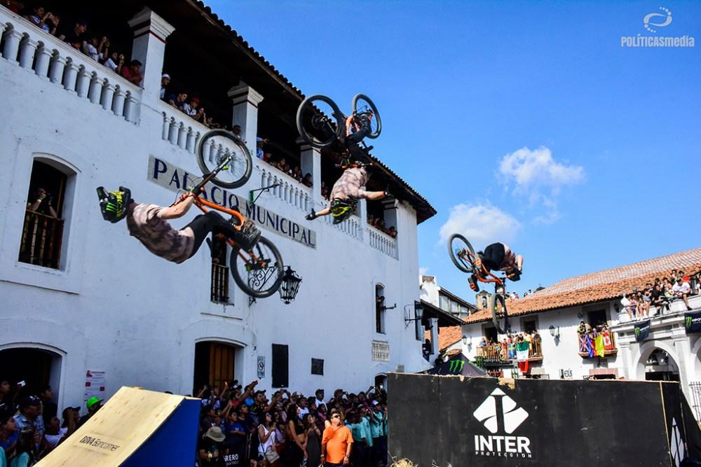 Muestra del Best Tick de la sexta edición de Down Hill Taxco, Guerrero. Fotografía: Alan Bazán | Políticas Media