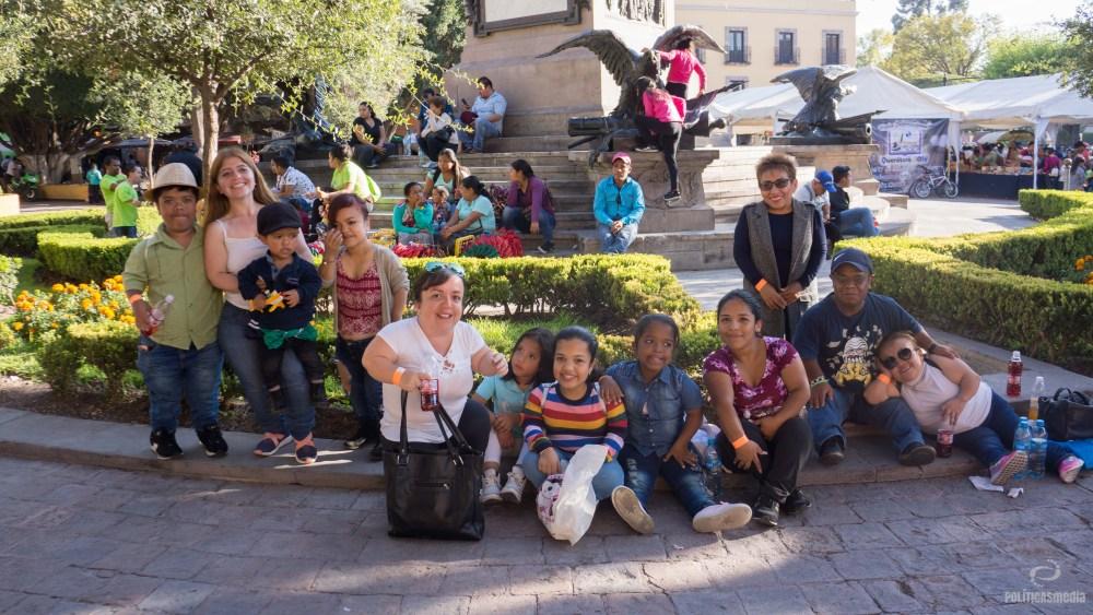 Recorrido Turístico en el Centro Histórico de Querétaro, en el 7° Congreso Nacional de Personas con Talla Baja en Querétaro, 2018. Foto: Paty Olivares.