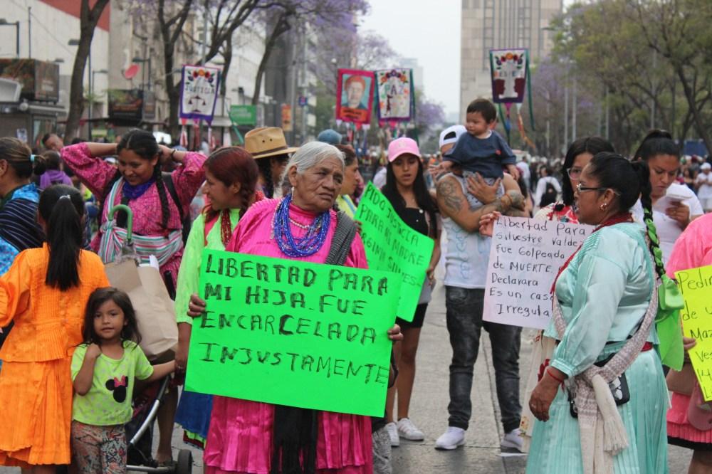 Marcha Día Internacional de la Mujer. Ciudad de México 08 marzo 2020 | Foto: Marlen Roak