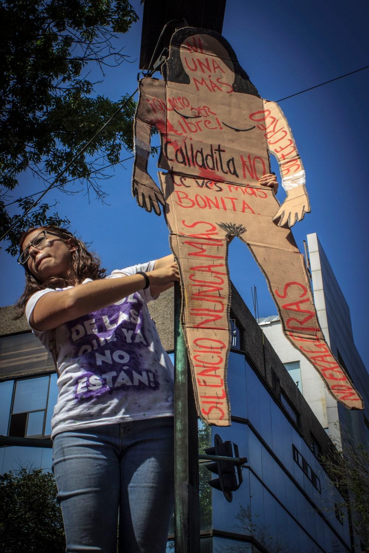 Marcha Día Internacional de la Mujer. Ciudad de México 08 marzo 2020 | Foto: Mónica Olivares