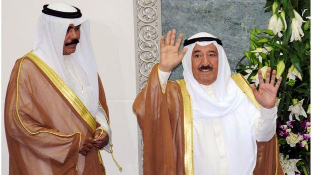 ولي عهد الكويت يتولى إدارة البلاد مؤقتا