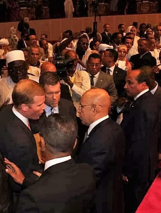سفارة الولايات المتحدة الأمريكية في انواكشوط تهنئ الموريتانيين بذكرى تنصيب ولد الغزواني