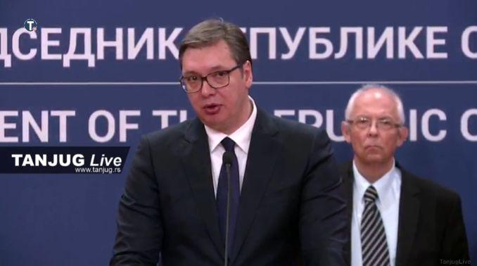 Predsednik Vučić proglasio vanredno stanje (VIDEO)