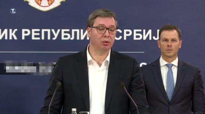 Vučić: Moguće uvođenje vanrednog stanja (VIDEO)