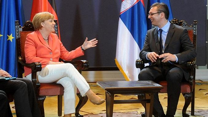 Video-poziv umesto sastanka Vučića i Merkelove