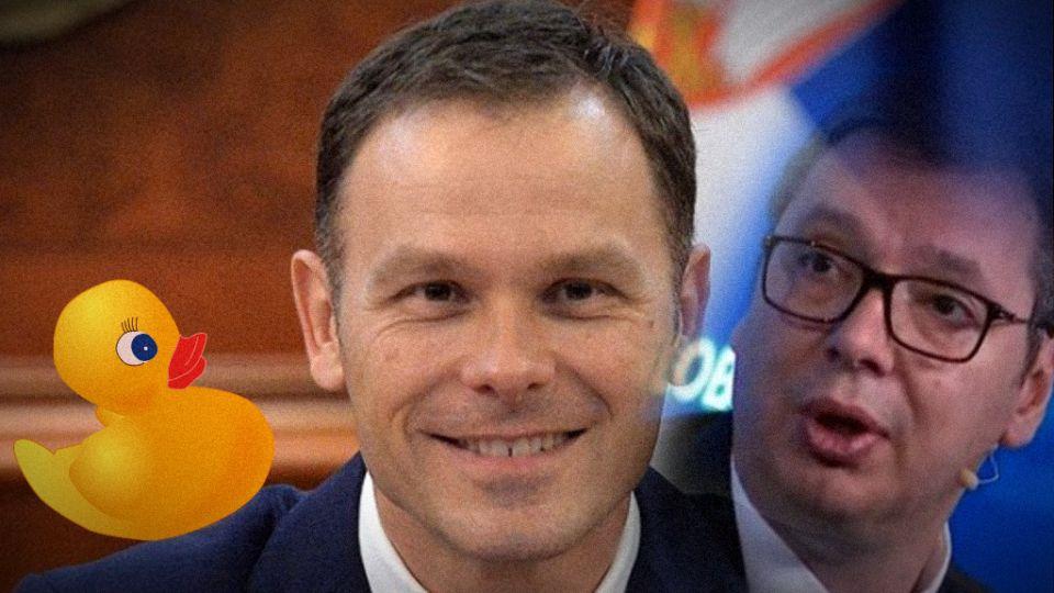 Siniša: Kad sam bio mali imao sam patku; Često se sa Vučićem sastajem mimo kancelarije