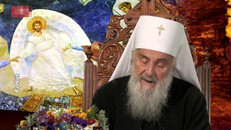 Patrijarh u poslanici: Uskrs u teškim uslovima, podrška zdravstvenim radnicima