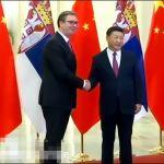 Vučić Đinpingu povodom Honkonga: Podržavamo suverenitet, integritet i bezbednost Kine