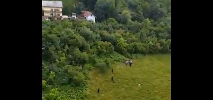 Uhapšeni migranati koji su pobegli uz pretnju vatrenim oružjem