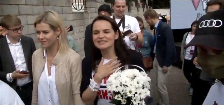 Lukašenkova protivnica na izborima pobegla u Litvaniju