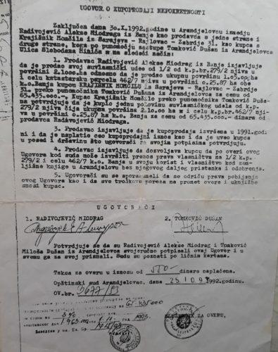Vukanović: Dok su Srbi ratovali i napuštali ognjišta, Krajišnik postajao veleposednik kupujući zemlju u Srbiji