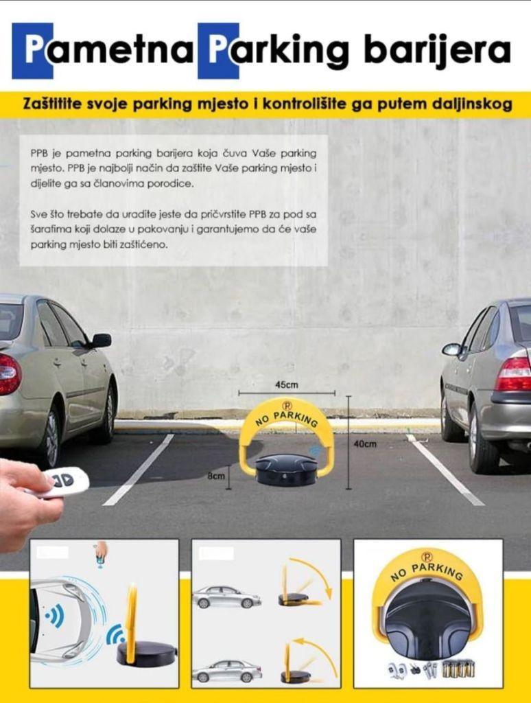 REŠENJE ZA VAŠE PARKING MESTO - PAMETNA PARKING BLOKADA: Zaštitite svoje parking mesto!