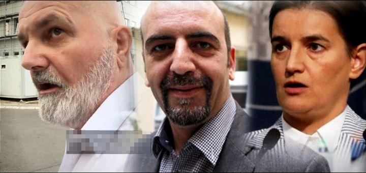 """""""UPUCAĆU TE KO ZECA!"""": Obezbeđenje firme u kojoj radi brat Ane Brnabić pretilo novinarima! (VIDEO)"""