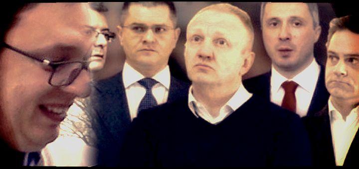 """""""Vučić može da uživa dok je ova srpska opozicija tu. Oni su smejurija!"""""""