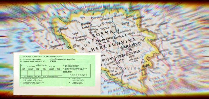 Građani Srbije od 19. oktobra bez zelenog kartona za BiH
