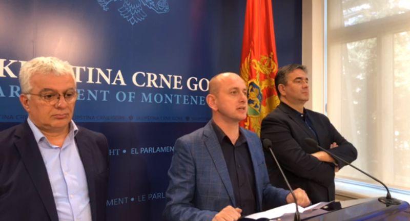 Lideri DF najavili otkazivanje podrške Vladi u Podgorici: U istoj vlasti ne mogu istovremeno biti DF i Milivoje Katnić