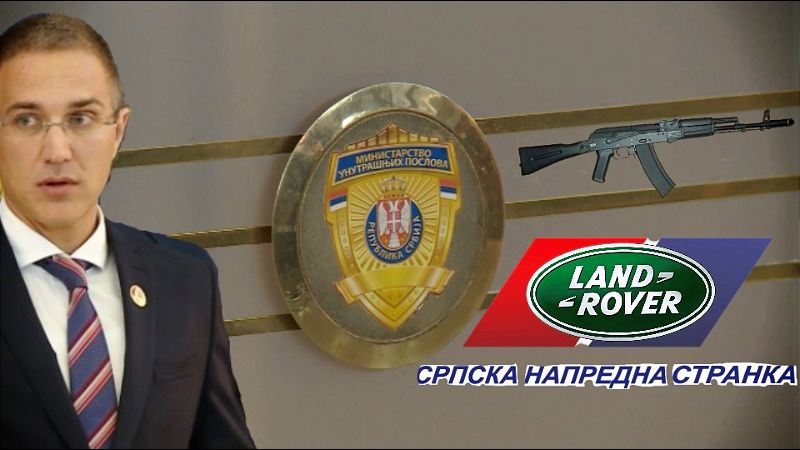 MUP prodavao oružje GIM-u, dug pokriven džipovima firme člana GO SNS-a
