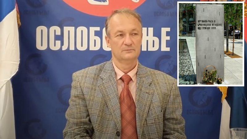 """Todorov: Ko je srušio spomenik """"Žrtvama rata i braniocima otadžbine 1991 – 1999""""?"""