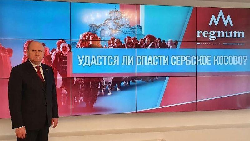 Mlađan Đorđević u Moskvi: VUČIĆ RUŠI TEMELJE OPSTANKA KOSOVA U SRBIJI