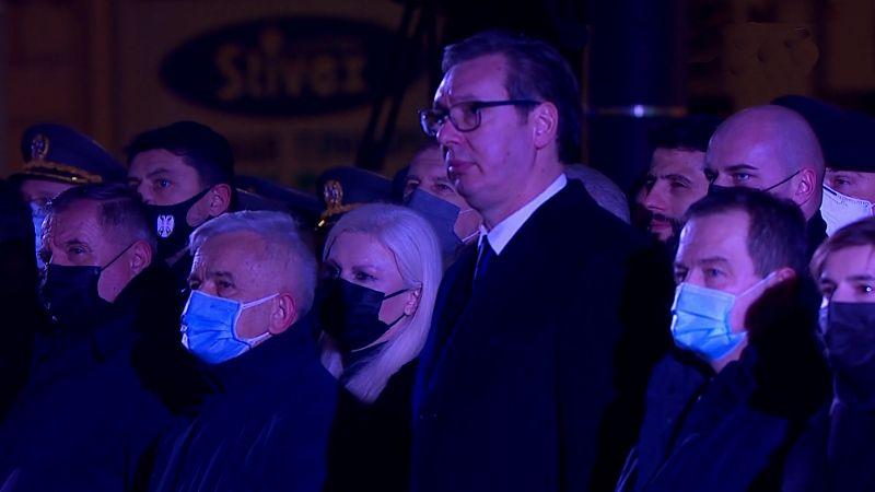 Otkriven spomenik Stefanu Nemanji; Vučić: Golem je jer kroz njega treba da vide nas VIDEO/FOTO
