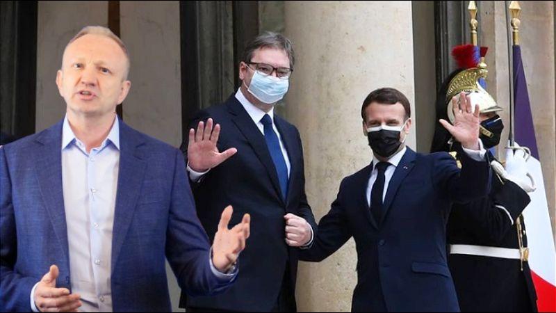 Đilas: Konjak koji Vučić pije s Makronom Srbiju košta milijarde evra!