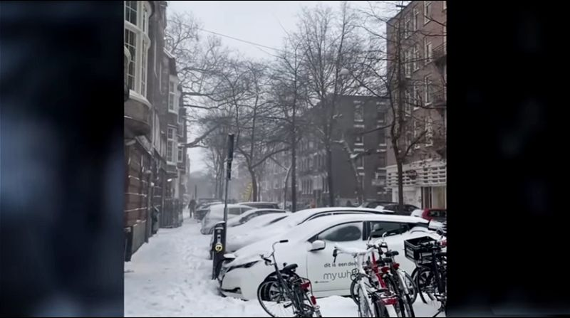 Snežna oluja zahvatila Nemačku, 28 povređenih u saobraćajnim nesrećama (VIDEO)