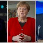 O čemu su razgovarali Merkelova, Putin i Makron?