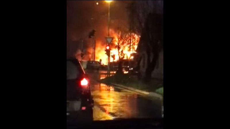 Požar u Pančevu, gori skladište veštačkog đubriva! (VIDEO)