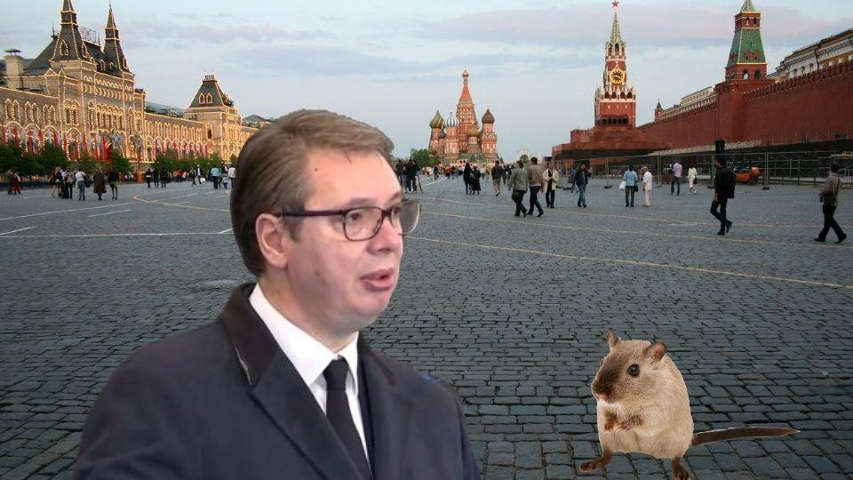 Ruski mediji: Vučić je KUKAVICA!