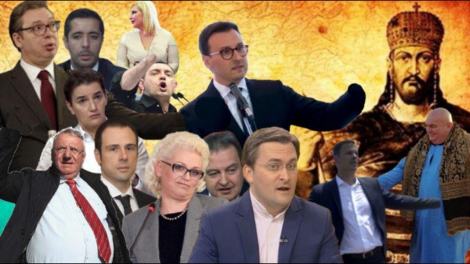 Od Nemanjine do Skupštine niko ne bi mogao ni dupe da obriše, da je danas na snazi Dušanov zakonik