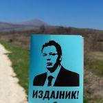 Priveden zbog nalepnice protiv Vučića