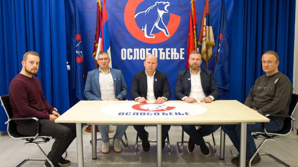 Pokret Oslobođenje pozvao sve rodoljubive organizacije U FRONT ZA ODBRANU KOSOVA I METOHIJE
