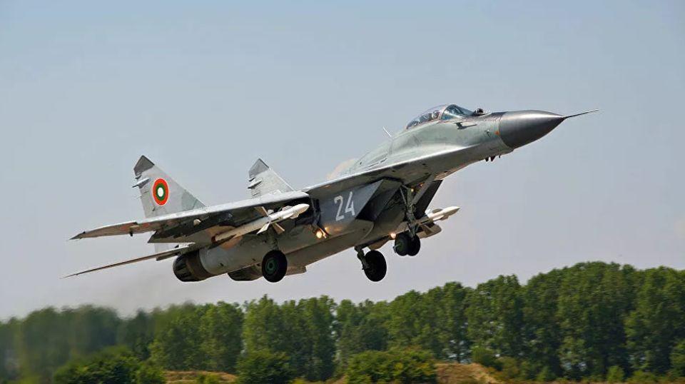 Srušio se MiG-29 u Bugarskoj, obustavljena vojna vežba sa srpskim snagama
