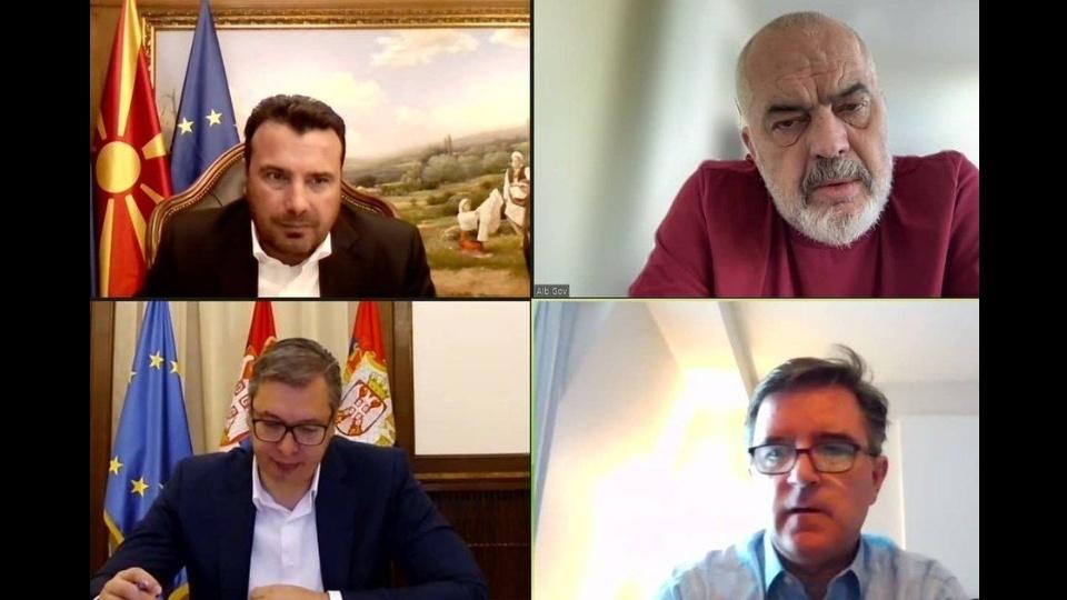 Vučić sa Zaevom i Ramom uoči Foruma u Skoplju